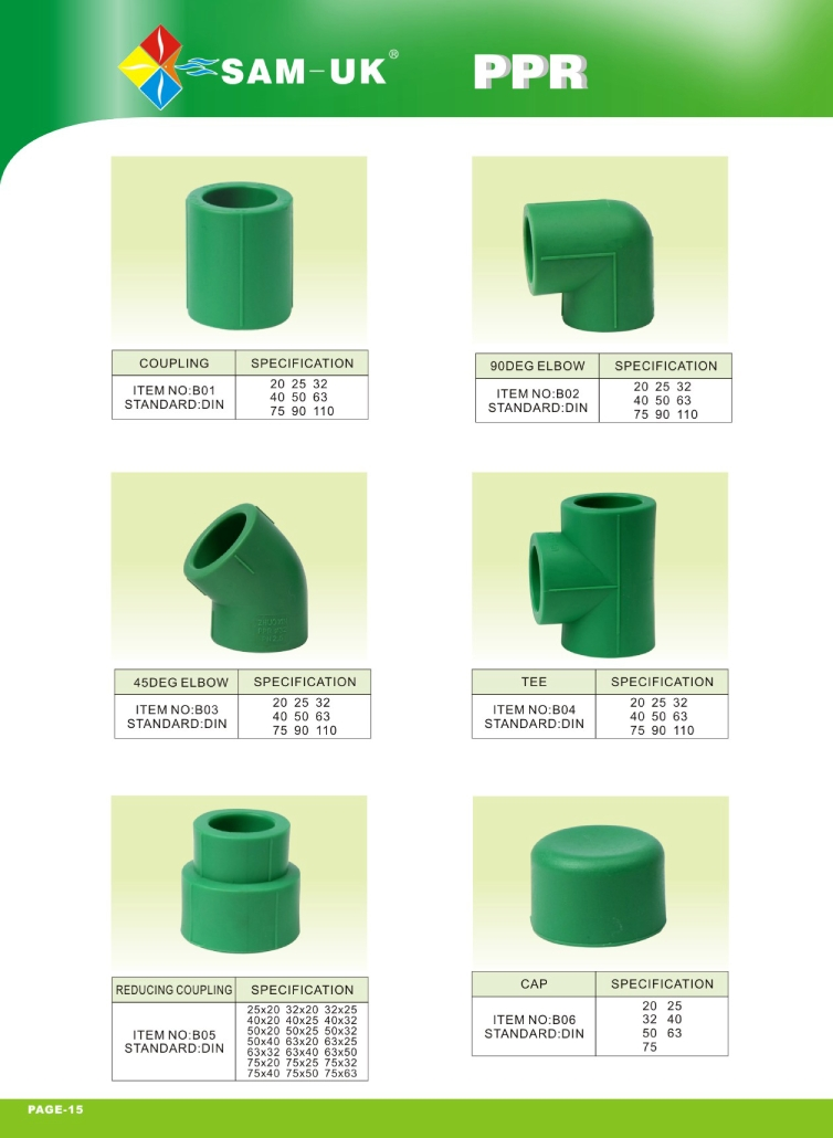 Hd catalogue ppr pipes and fittings sam uk