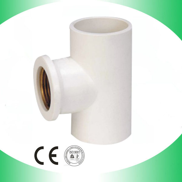 Pvc female tee copper thread sam uk for Copper to plastic fittings